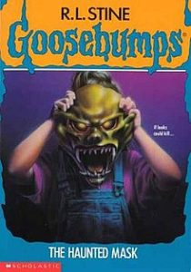 best halloween reads the haunted mask by R.L. Stine